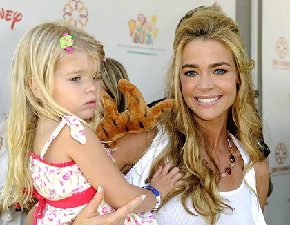 Denise Richards and her daughter Lola Rose Sheen