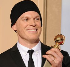 Michael C Hall collects his Golden Globe in 2010