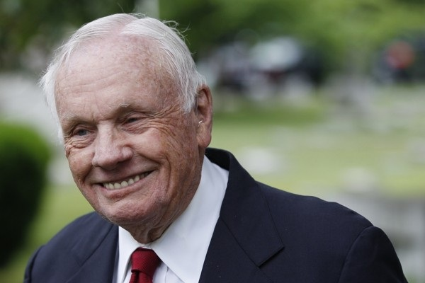 Neil Armstrong in his later years