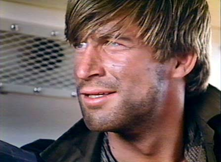 Simon MacCorkindale in his younger, more rugged days