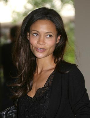 Thandie Newton looking very thin