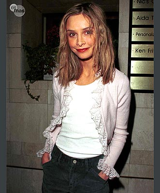 Calista Flockhart looking painfully thin