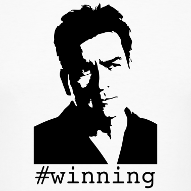 Charlie Sheen #winning