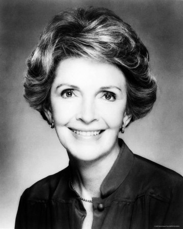 Nancy Reagan was diagnosed with breast cancer in 1987