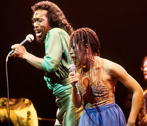 Ashford and Simpson in action together