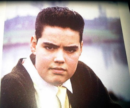 russell brand as a young and chubby man
