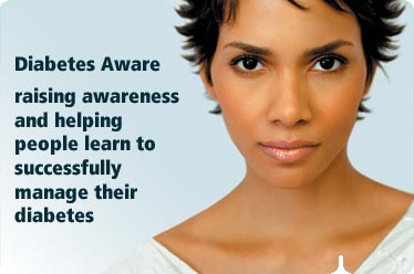 Halle Berry promoting diabetes awareness