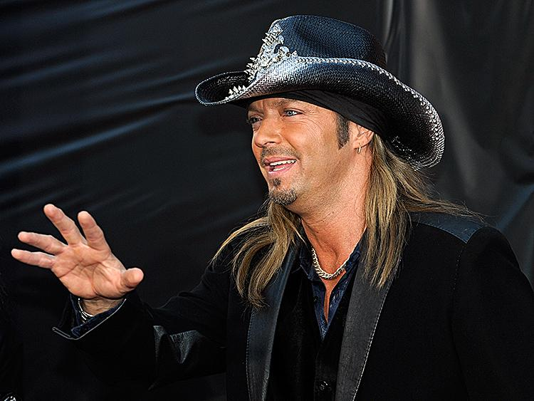 bret michaels at the country music awards