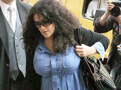Salma Hayek's weight gain during pregnancy was caused by diabetes