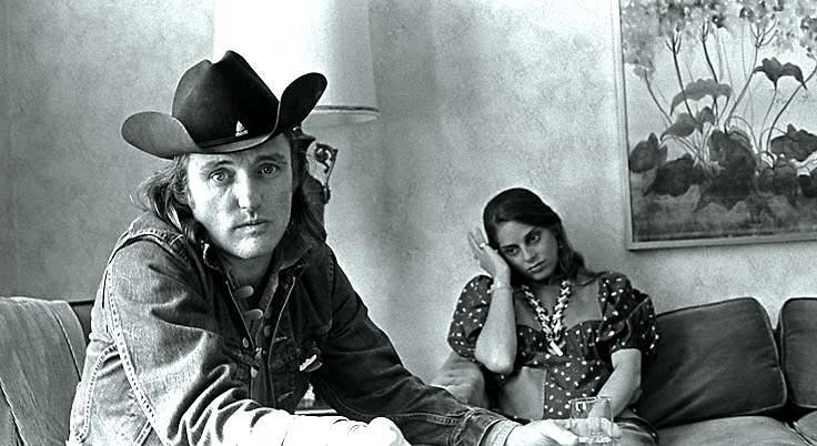 Dennis Hopper and wife Daria Halprin - Farewell to an artist