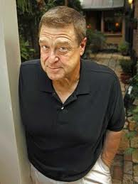 A happier looking John Goodman who has battled with his weight for years