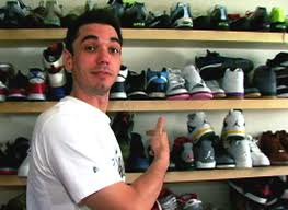 DJ Adam 'AM' Goldstein before his death. He loved his sneakers.