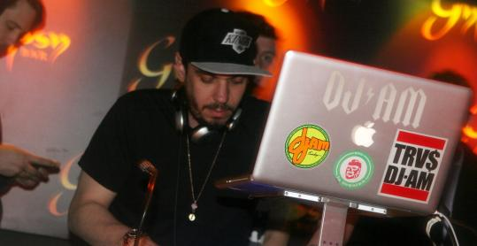 DJ ADam Goldstein doing his thing