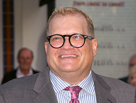 The old Drew Carey - overweight and uncomfortable with himself