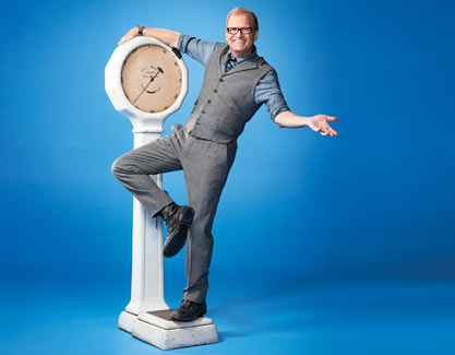 Drew Carey weighs up his options and comes out healthier because of it