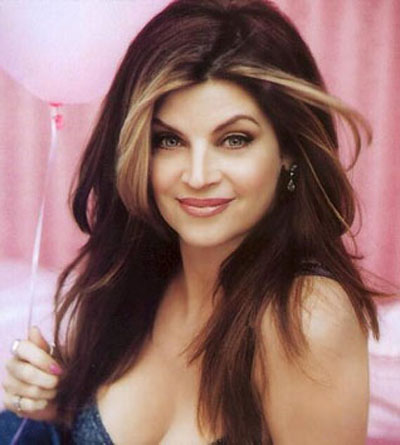 Kirstie Alley as seen when she first appeared on Cheers