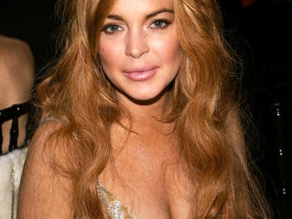 Lindsay Lohan's face has changed somewhat in recent months. Surgery, d'ya think?