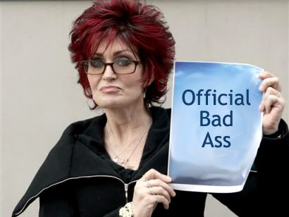 Sharon Osbourne - Official  badass apparently